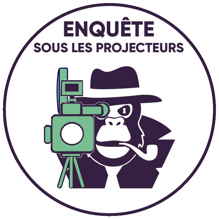 Logo enquête sous les projecteurs